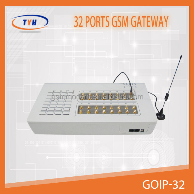 great sale goip 32 port voip gsm gateway software pbx