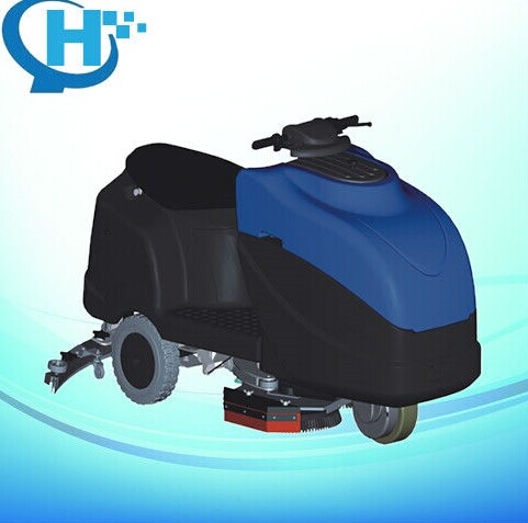 2013 hot sale motorbike-type automantic tennant floor scrubber