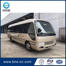 2004 Year diesel type 15B engine 24 seats used coaster passenger bus for sale