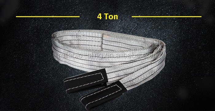 EN1492-1 Standard 1 Ton Polyester Lifting Web Belt Sling Type