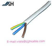 High quality 2/3/4/5/6/8/10 core pvc/pe coated cable colorful for domestic electrical