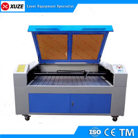 Automatically pick up laser machine engraver cutter for labels and trademarks