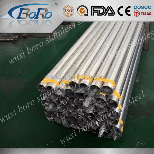 304 304L 316 316L stainless steel welded pipe