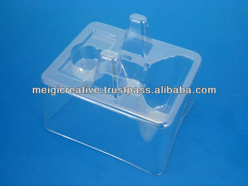 Clear PET Retail Plastic Insert Trays, Electronic Packaging