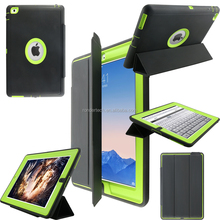 Full cover protective pc hard case for ipad 234 with stander and screen protector,smart case for ipad 234