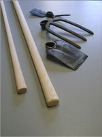 High Quality Wooden Garden Tool Handles for Hoe