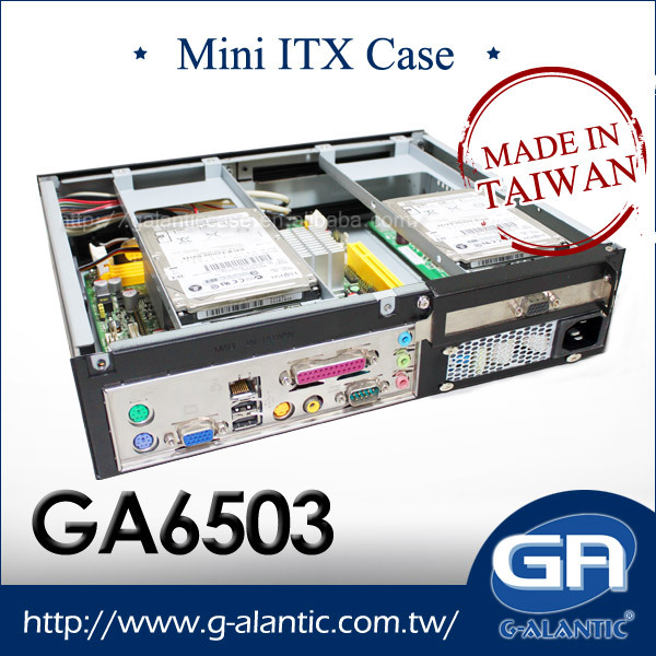 GA6503- Gaming Mini-ITX case with two expansion slot