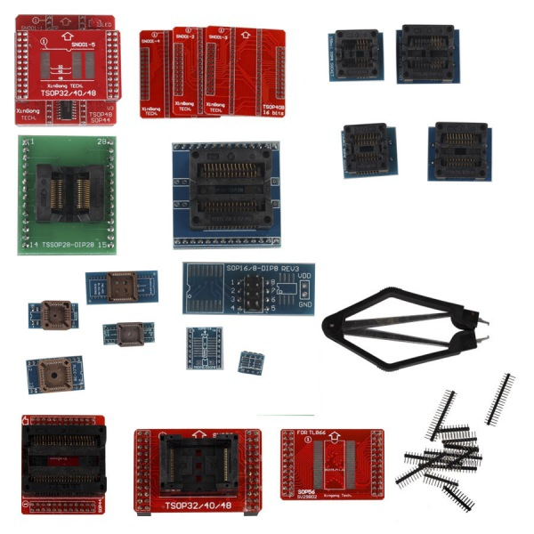 Factory Price Full Set 21pcs Socket Adapters for Super Mini Pro TL866A EEPROM Programmer Fast Shipment