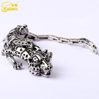 stainless steel casting animal bracelet professional bracelet manufacture