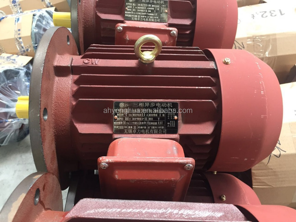 Ac Electric High Efficiency Three Phase Asynchronous Motor 3KW