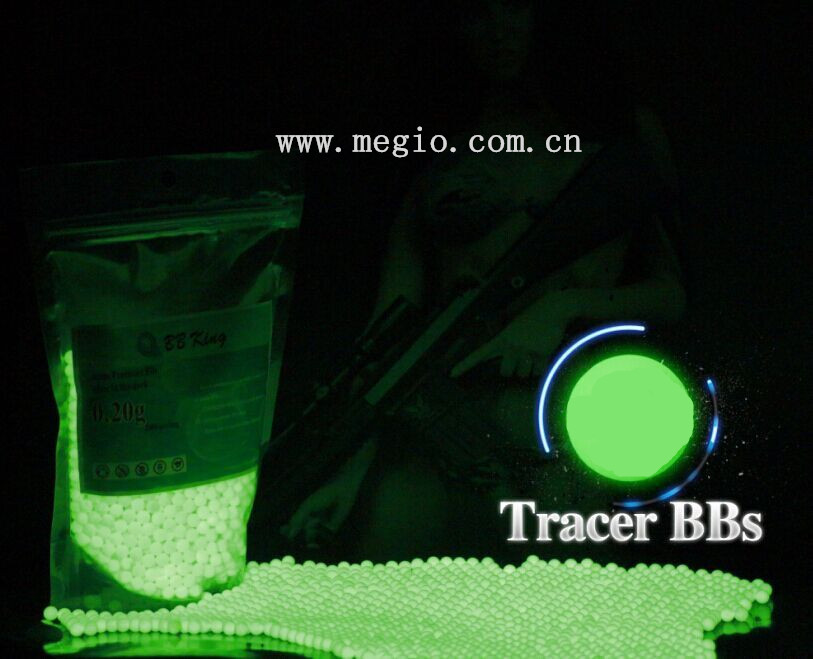 Tracer airsoft bb 0.2g 0.25g Glow in dark