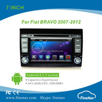 "7"" HD Touch Screen Car Radio Android 4.2.2 for Fiat Bravo with Gps Navi,3G,Wifi,Bluetooth,Ipod Support Rear View Camera,DVR"