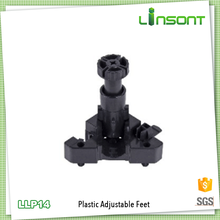 China supplies plastic adjustable leveling feet kitchen fittings for cabinet