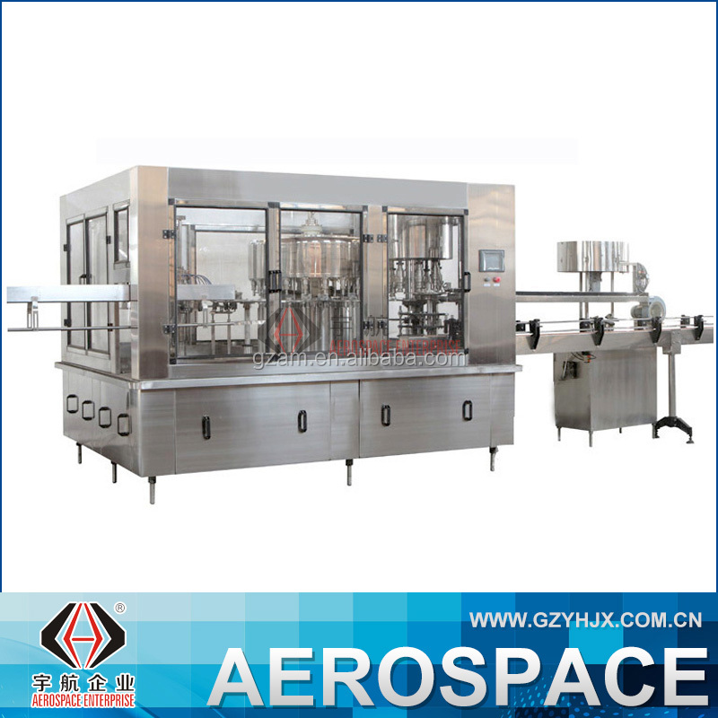 YHSCL-RO || Automatic Mineral Water/Juice Bottle Washing Filling Capping Machine Guangzhou Price