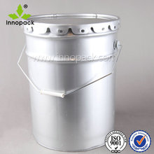 5 gallon tinplate barrel/drum, rubber in cover , flower lid and handle