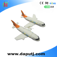 Creative airplane shape usb flash drive 4gb plane usb pen drive for promotion gift