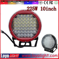 Car parts!! ATV 4x4 Accessories 10 inch 225w RED Led Round Driving light , LED offroad led driving spot light