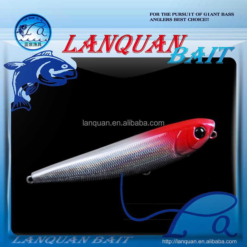 LANQUAN newest perfect swim action hand mand 62g Giant Minnow Hard Plastic Fishing Lure Minnow Bait For Fishing LQ1227