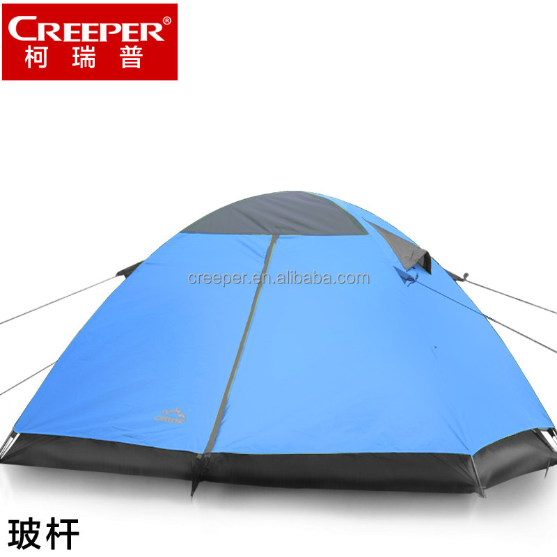 Creeper outdoor aluminum alloy travel mountaineering camping double tents