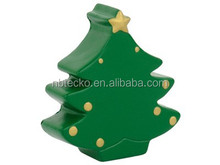 Promotional Christmas Tree Hand Squeeze Ball