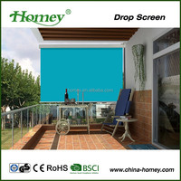 European style easy fixing outdoor drop arm window awning