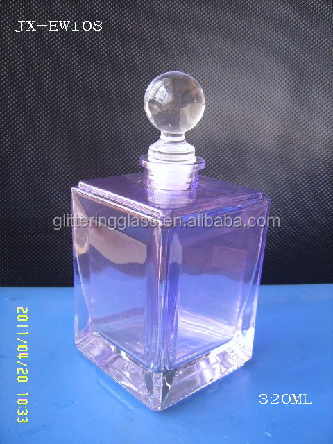 320ml perfume reed diffuser glass bottle