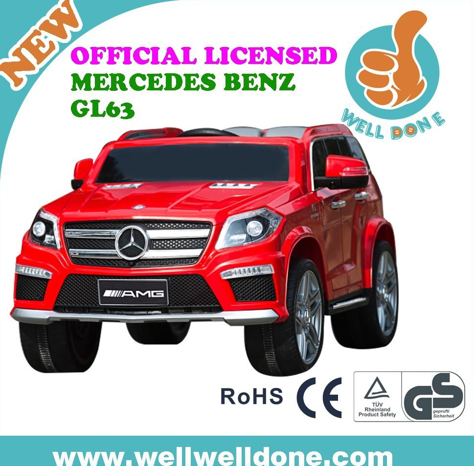 New licensed Mercedes Benz GL63 ride on car 12v,baby remote control toys cars electric toy,battery powered electric car toy