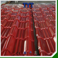 Beautiful Building Material Coated German Roof Tile