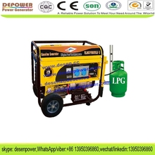 New design 6kw 5kva 5kw portable natural gas turbine generator price