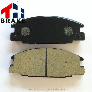 Trooper D363 front wheel auto ceramics brake pad produced by Chinese factory