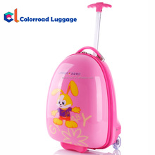 2017 New Design Carton School Bag and Kids Suitcase with High Quality Travel Trolley Luggage Case