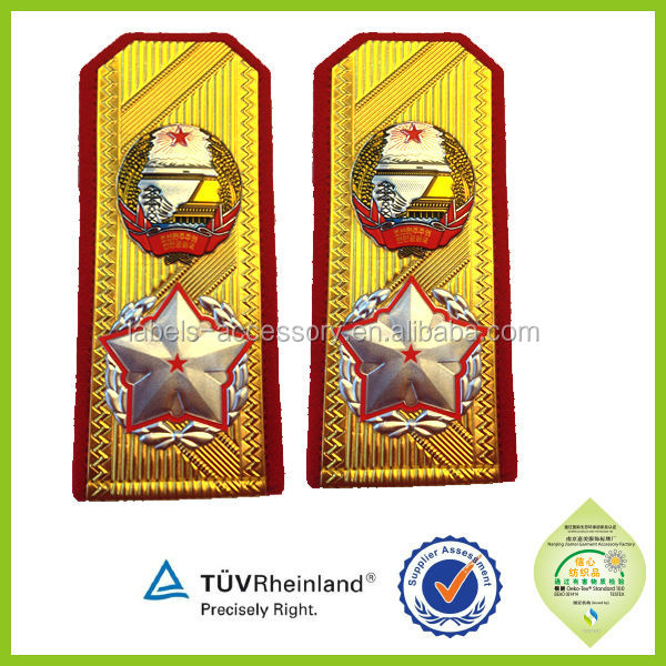 gold braid for military uniform
