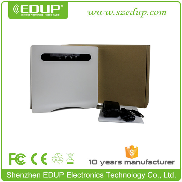 300Mbps TDD-LTE FDD WCDMA Wireless 3G 4G Router with Sim Card Slot