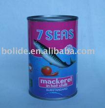 canned mackerel hot chili