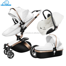 Wolesale cheap travel system luxury baby stroller 3 in 1 with carrycot and carseat