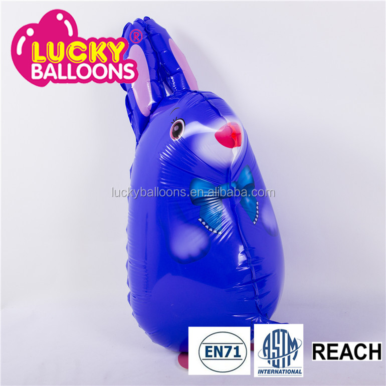2016 New Design Helium Inflatable Foil Printed Animal Walking Pet Balloon