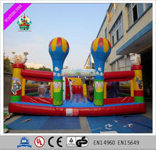 Attractive commercial inflatable bounce house inflatable amusement park, inflatable bouncy castles
