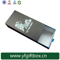 Printed logo hair extension boxes custom design paper box hair weave packaging box