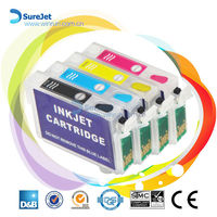 Hot sell!! T0731-T0734 ink cartridge for epson t10 t11 t13 auto reset chip refill kit