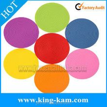 Heat Resistant Hot Pads Perfect Modern Home Decor Silicone Heat Resistant Coasters Cup Insulation Mat, Tableware Insulation Pad