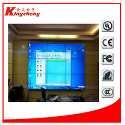 computer monitors silver color wall mounted advertising lcd monitor lcd advertising