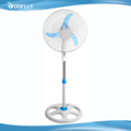 Modern Design with round base metal 3 blades 18 inch stand fan