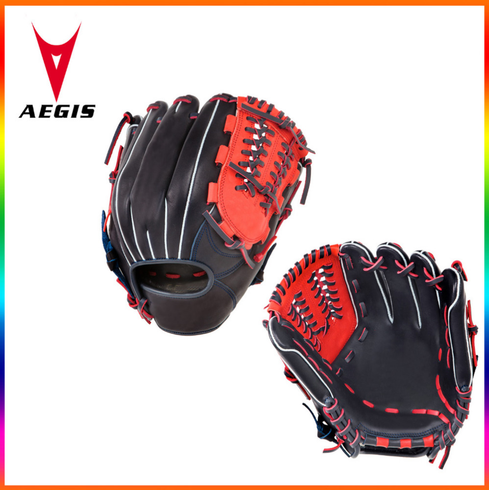 Hand made high quality baseball gloves with kip leather close web