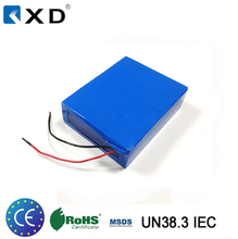 Rechargeable 12v 100ah deep cycle lithium ion battery for Solar/Inverter