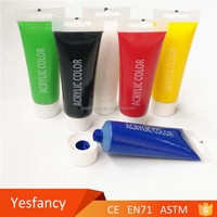 China manufacturer blending oil paint and acrylic artist paint brush set on leather