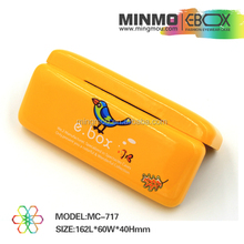 Beautiful silk screen printing glasses case hinge,leather glasses case,cute hard kid glasses case for kids
