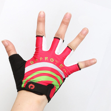 Factory Wholesale Kids Half Finger Outdoor Sports Bike Cycling Gloves