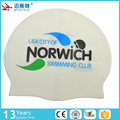 2017 New arrival custom bear silicone swim cap factory price