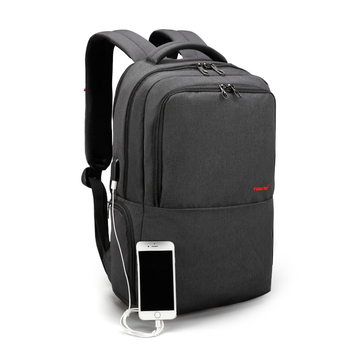 TIGERNU new arrival high quality waterproof usb charging anti-theft laptop backpack bag