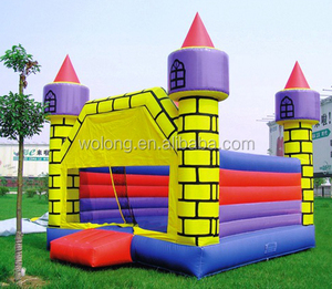 Inflatable bouncy castle Small castle bounce 4.2x4.2x4.3m IC007